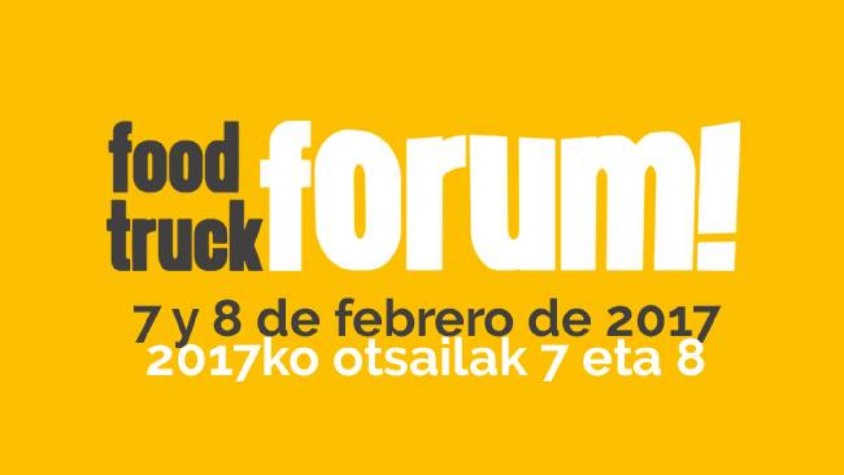 Food Truck Forum (BEC)