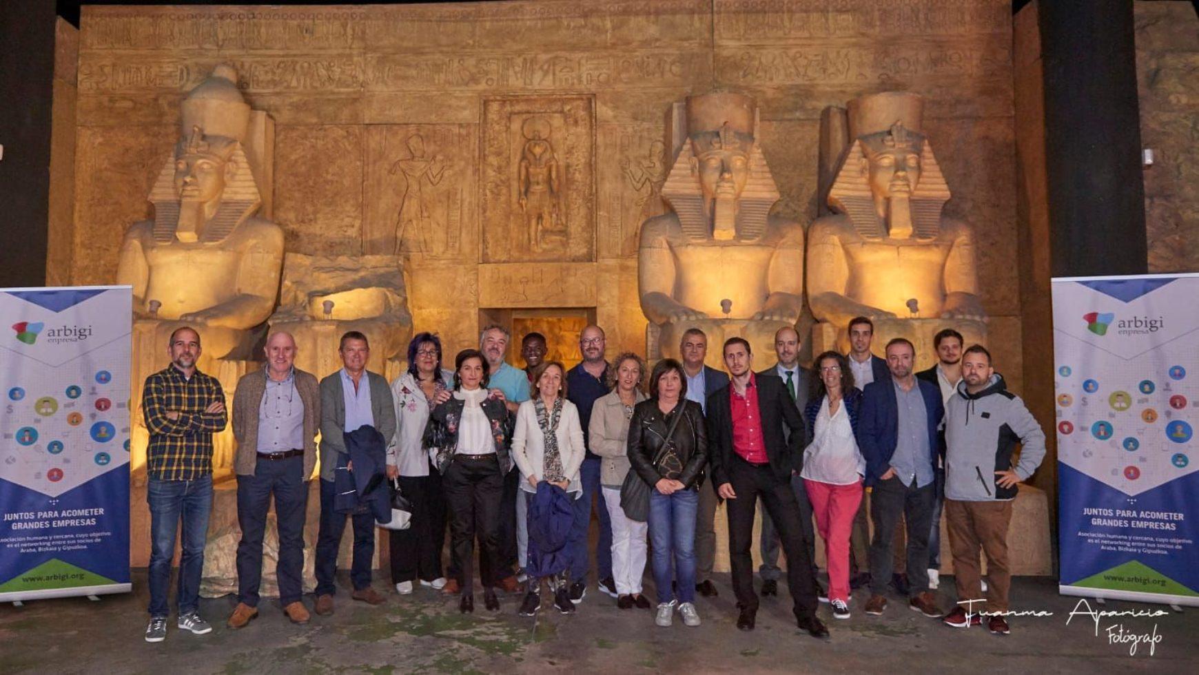 Visita Exposición Egipto en el DEC