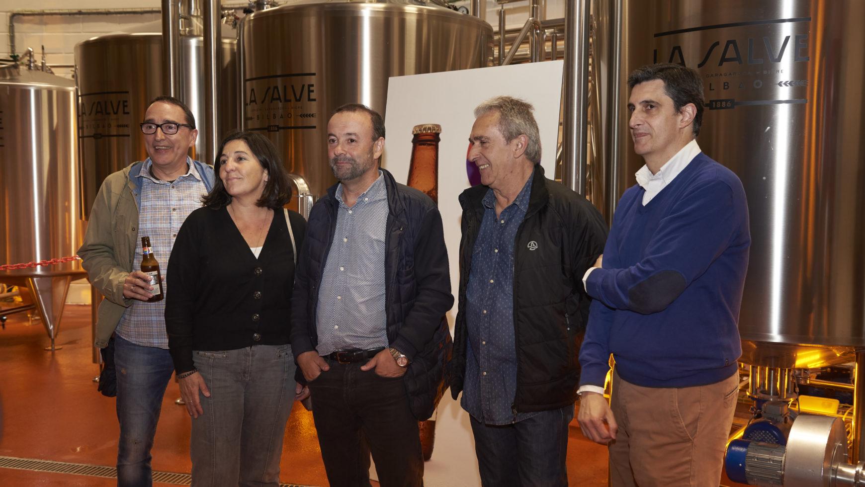 Visita a La Fabrica de Cerveza La Salve