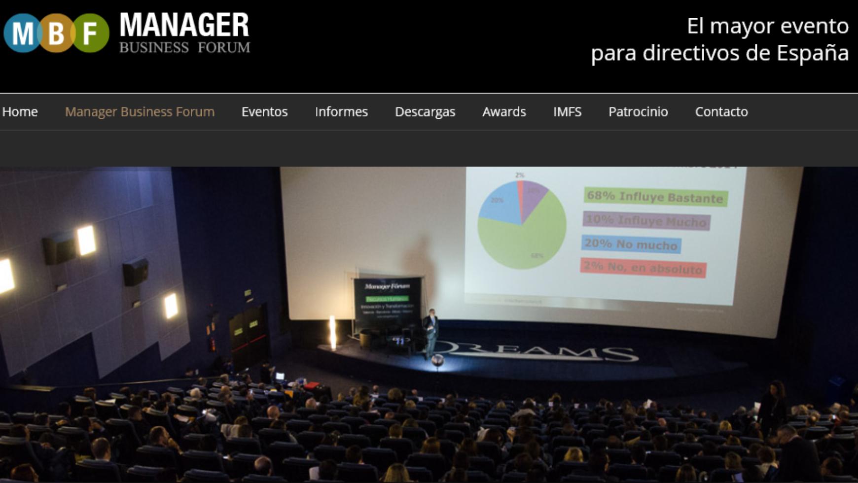Arbigi Partner oficial en el Manager Business Forum