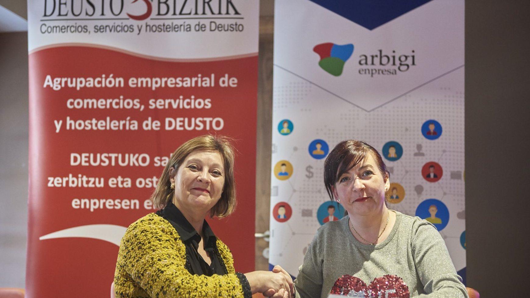 Arbigi y Deusto Bizirik firman un acuerdo de colaboración