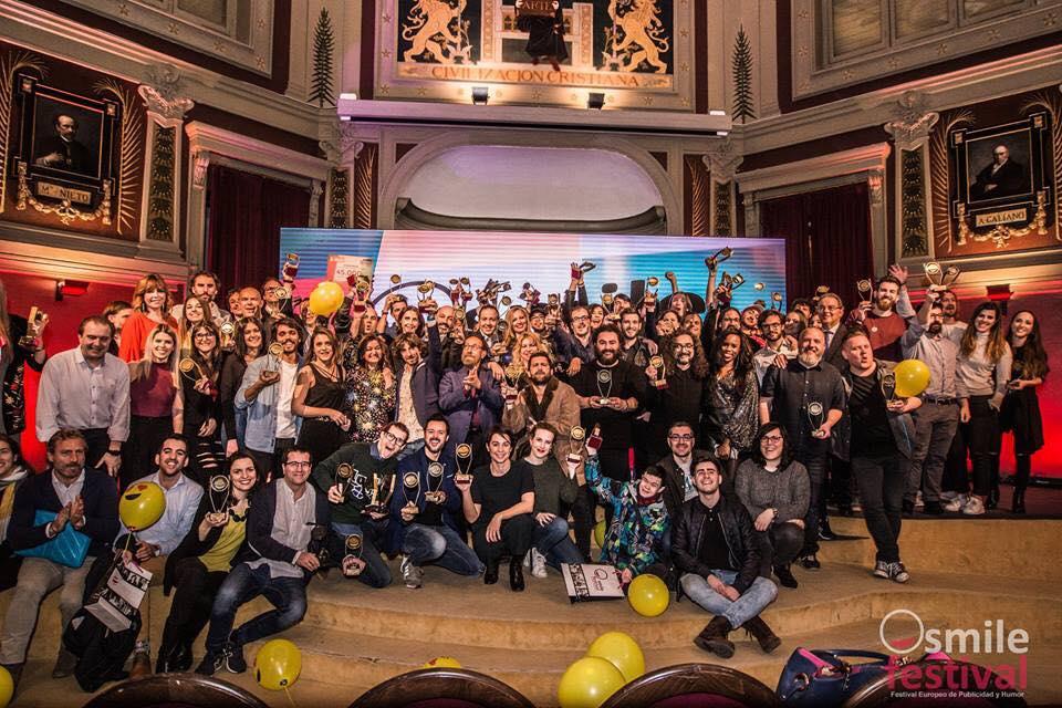Eñutt Comunicación gana tres premios publicitarios en el Smile Festival