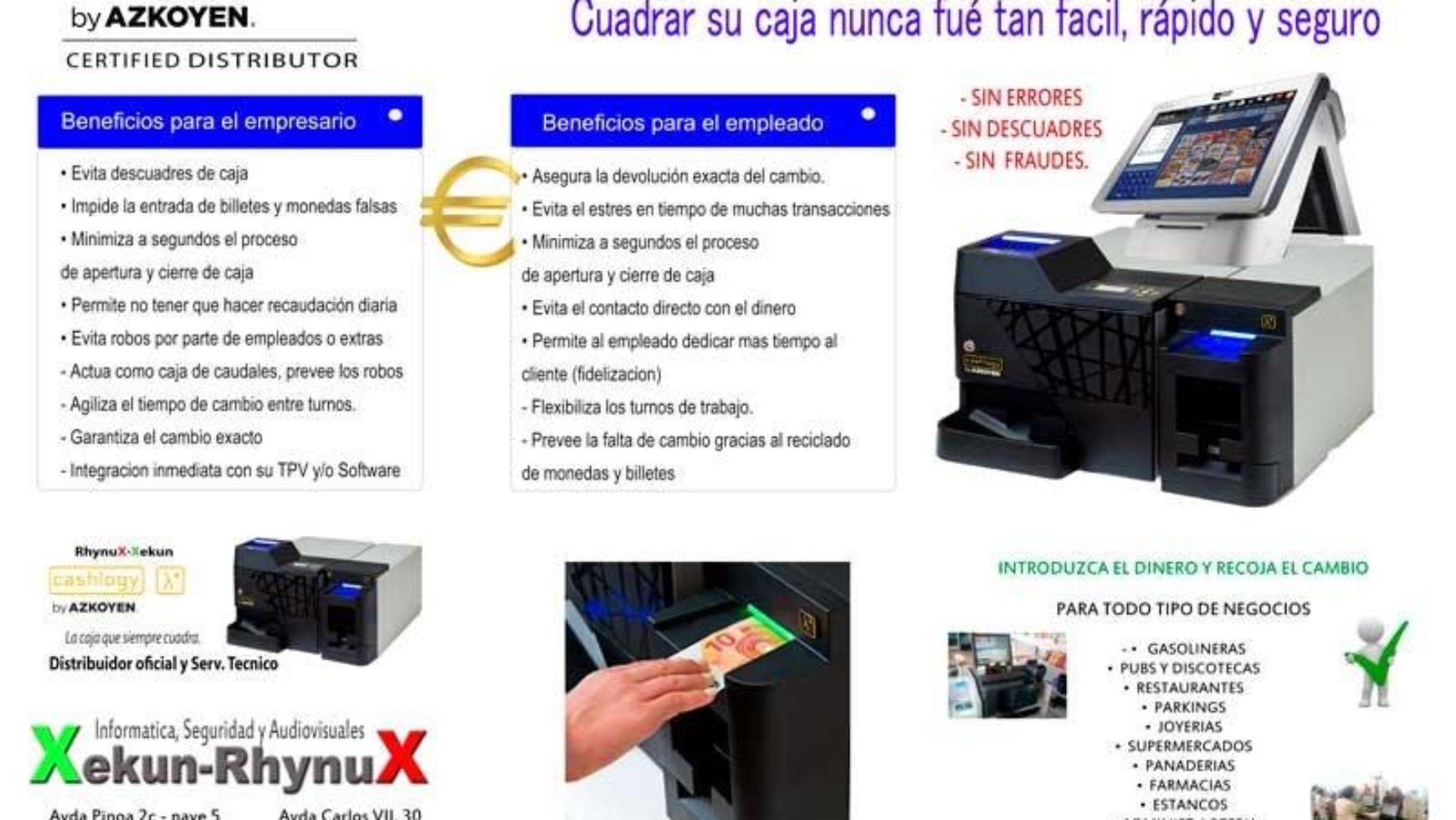 RHYNUX-XEKUN DISTRIBUIDOR Y SERVICIO TECNICO OFICIAL